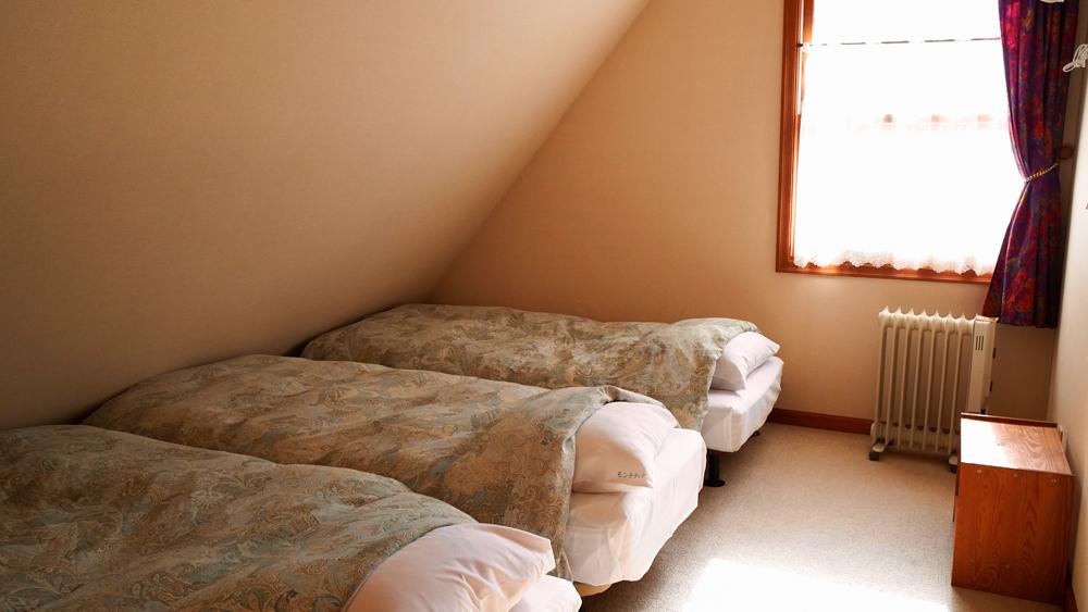 コテージ モンテラック 2階の寝室