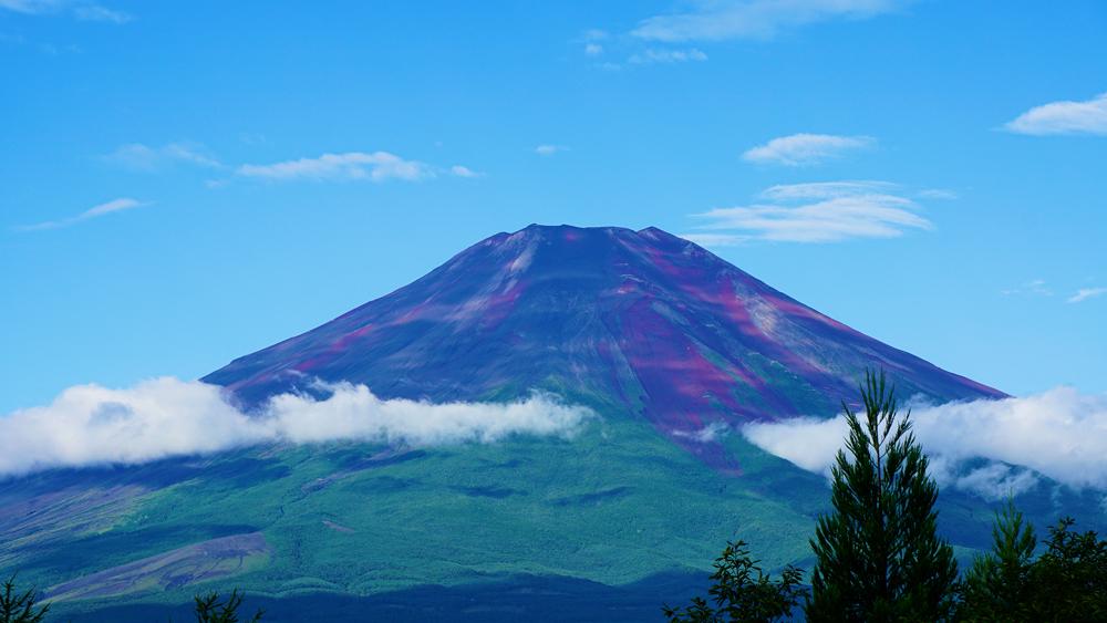 ペンション モンテラックからの富士山