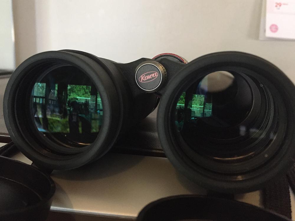 双眼鏡のレンズ径